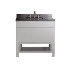 "Tribeca 37"" Vanity Set with Single Sink"