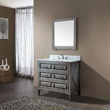 "Kelly 37"" Single Bathroom Vanity Set"