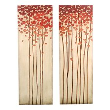 <strong>Kokoware</strong> Crafted Tree Wall Art (Set of 2)