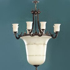 Vidra Chandelier in Rustic Bronze