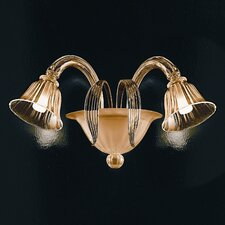 <strong>Zaneen Lighting</strong> D'Orsay 2 Light Wall Sconce