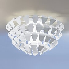 Puskin Flush Mount in White