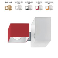 Domino 2 Light Flush Mount