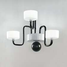 Guggenheim 3 Light Wall Sconce