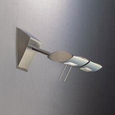 "Ra 4.5"" Contemporary 2 Light Wall Sconce"