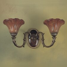 Wall Malaga 2 Light Wall Sconce