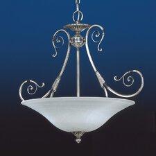 Alava II Traditional Pendant in Silver Oxide