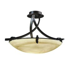 Toscana 1 Light Semi Flush Mount