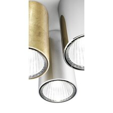 One 1 Light Semi Flush