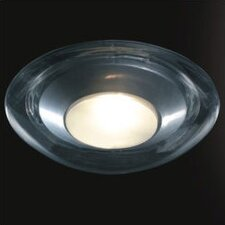 <strong>Zaneen Lighting</strong> Boreale Large Single Light Flush Mount in Gray