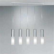 <strong>Zaneen Lighting</strong> Jazz Five Light Pendant Holder in White