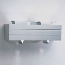 "Parallel 9"" Contemporary 2 Light Wall Sconce with V-Shaped Shades"