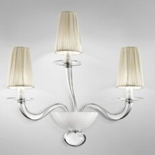 <strong>Zaneen Lighting</strong> Prado 3 Light Wall Sconce