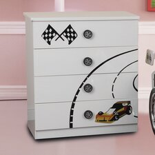 Sonic 4 Drawers Chest