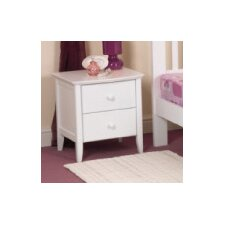 Ruby 2 Drawer Bedside Table