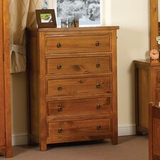 Curlew 5 Drawer Chest