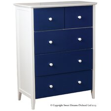Ruby 5 Drawer Chest