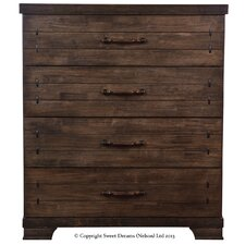 Mozart 4 Drawer Chest