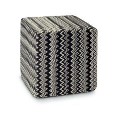 Master Moderno Trevira Orvault Pouf Cube Ottoman