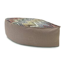 <strong>Missoni Home</strong> Ozan Leaf Shaped Pouf Ottoman