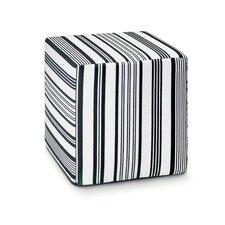 Rainbow Pouf Cube Ottoman
