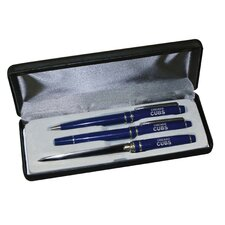 MLB 3 Piece Engraved Pen Gift Set