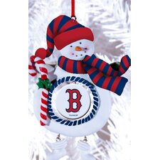 MLB Claydough Snowman Ornament