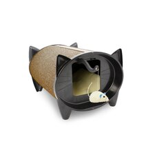 Scratch Kabin Cat House in Cocoa Bean
