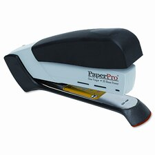 Desktop Stapler, 20 Sheet Capacity, Black/Gray