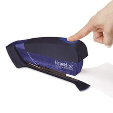 Desktop Stapler, 20 Sheet Capacity, Translucent Blue