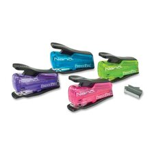 Mini Nano Stapler, Staples 12 Sheets, Assorted