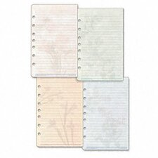 Garden Path Notepads with Four Designs, 5-1/2 x 8-1/2, Two 24-Sheet Pads