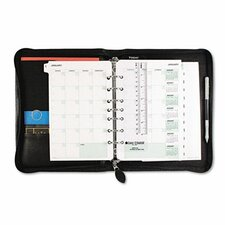 "Bonded Leather Organizer Starter Set, 5.5"" Wide"