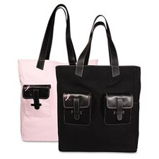 <strong>Day-Timer®</strong> Pink Ribbon Canvas Tote