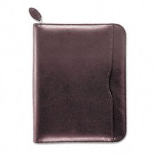 "Verona Leather Zippered Organizer Starter Set, 5.5"" Wide"