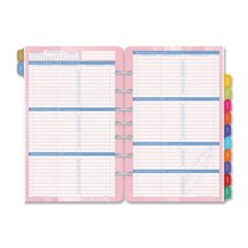 "Refill For Flavia Calendar, Jan-Dec, 2PPW, 5-1/2""x8-1/2"", 2015"