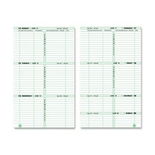 "2-Page-Per-Week Original Filler Set, 2PPW, Desk Size, 5-1/2""x8-1/2"", 2013"