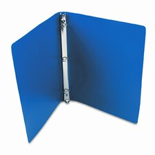 Accohide Poly Ring Binder w/23-Pt. Cover, 1/2in Capacity