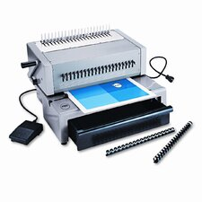 CombBind C800pro Electric Comb Binding Machine, 425-Sheets, 16 x 15 x 12, Gray