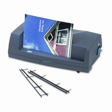 VeloBind V110e Electric Strip Binding System, 200-Sheets, 13 x 7 x 4, Charcoal