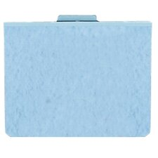 "Hanging Report Cover, 2"" Capacity, 11""x8-1/8"", 5 per Pack, Light Blue"