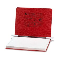Pressboard Hanging Data Binder, 12 x 8-1/2 Unburst Sheets, Executive Red
