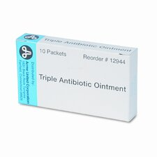 Antibiotic Ointment, Refill, 10 Tubes Per Box