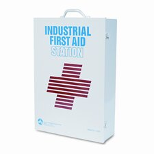 Industrial First Aid Kit for 100 People, OSHA/ANSI, 947 Pieces, Metal