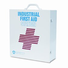 First Aid Kit for 50 People, 740 Pieces, OSHA/ANSI, Metal Case