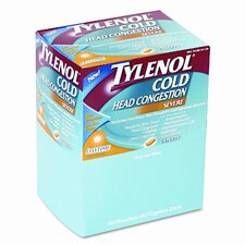 Physicianscare Cold And Cough Congestion Medication, 50 Doses of 2 Tablets