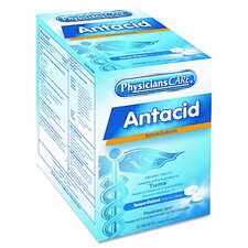 Antacid Tablets, Two Tablets per Packet, 50 Packets per Box