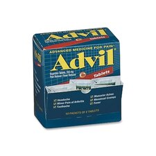 <strong>Acme United Corporation</strong> Advil Pain Reliever Refill (50 Packets of 2 Tablets)
