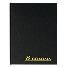 8 Column Cloth Cover Account Book (Set of 6)