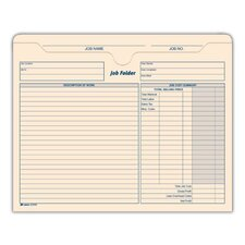 <strong>Adams Business Forms</strong> Job Folder (Set of 90)